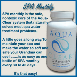 AquaClear SPA Montly
